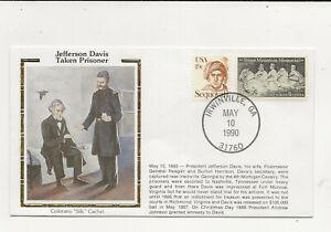 US Army Comm/FDC -  Civil War - Jefferson Davis Taken Prisoner - 1990 (133)Z