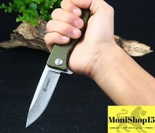 GANZO G728 Axis Pocket Locking 440C Blade Outdoor Camping Hunting Knife