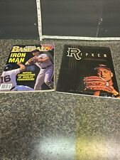 (1 )Ripken Hall Of Fame Collector's Edition  & (1) 91 Athlon's Baseball Magazine