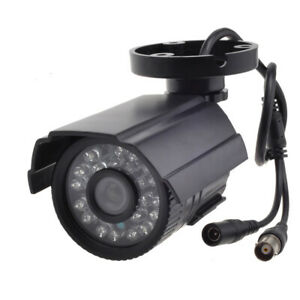 AHD Wide Angle Wired 2.0MP In/Outdoor CCTV Camera Security System Night Vision