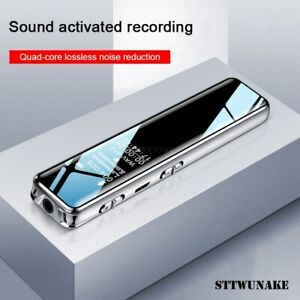 Q22 Mini Digital Voice Recorder Sound Pen Recording Activated 16GB Conference 1*