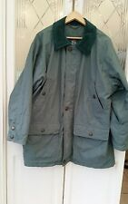 Baracuta-homme vert baracuta manteau rembourré taille 42 a très peu porter (6984)