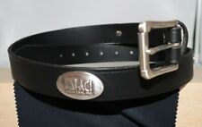 Custom Handmade Leather Belt Arch Coal Inc. Logo