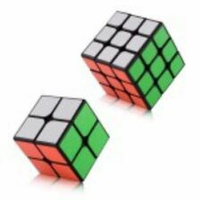 Rubik's Cube 2x2, 3x3 Bundle Set Black Body