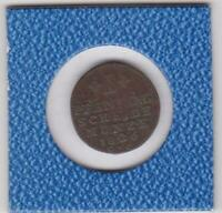 1 Pfennig Braunschweig 1826 C.v.C. Karl Brunswick