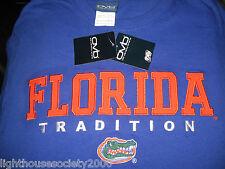 Florida Gators Tradition Football University of Florida Men's Blue Shirt Medium