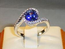 Graduation Sapphire Round Fine Gemstone Rings
