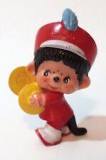 Vintage Monchhichi Monchichi Monkey Plastic Pvc Figure Band Cymbals 1979