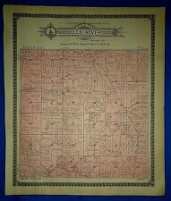 1912 BELLE RIVER Twp DOUGLAS Co MINNESOTA MAP Ancestry Genealogy Family History