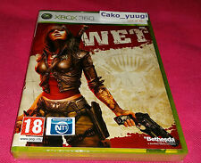 WET XBOX 360 NEUF SOUS BLISTER VERSION 100% FRANCAISE