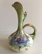 Antique Turn-Teplitz Bohemian Amphora Vase Art Nouveau