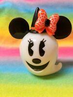 Tokyo Disney Resort TDR Halloween Pumpkin Ghost Snack Accessory Case / Minnie