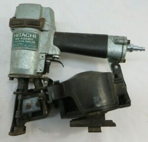 Hitachi NV45AB2 1-3/4 inch Adjustable Drive Coil Roofing Nailer (a)