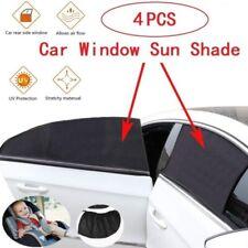 4Pcs Car Side Window Sun Shade Visor Mesh Shield Sunshades UV Protection Cover