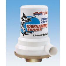 Rule Tournament Series Livewell Pump 1600 GPH 12 Volt