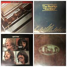 THE BEATLES classic LP vinyl 33rpm records collection