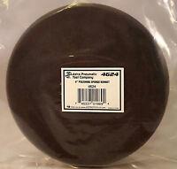 "6"" Polishing Black Foam Sponge Buffing Pad - Hook-It Backing - Astro 4624"