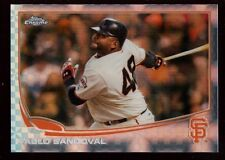 PABLO SANDOVAL RED SOX MINT XFRACTOR GIANTS SP 2013 TOPPS CHROME REFRACTOR #216