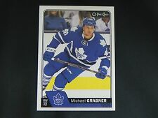 2016-17 O-Pee-Chee OPC #105 Michael Grabner Toronto Maple Leafs