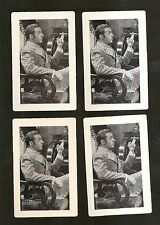 Card lot of (4) MGM Movie Trivia Cards  - GASLIGHT 1944 w/ CHARLES BOYER