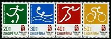 Albania 2008 Beijing Olympics strip of 4 mnh stamps