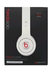 Original Monster Beats by Dre Solo On Ear Headphones with Original Packaging