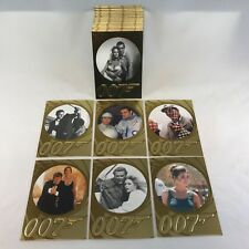 JAMES BOND 007 50th ANNIVERSARY SERIES 1 (2012) Complete Trading Card Set of 99