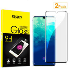 2X KS For ZTE Axon 10 Pro 5G 3D Full Cover Tempered Glass Screen Protector
