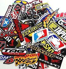 50 Mixed Random Stickers Motocross Motorcycle Car ATV Racing Bike Helmet Decal