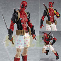 "Figma EX042 Deadpool DX Ver. 16cm/6"" PVC Figure Toy New Xmas Model Statue Gift"