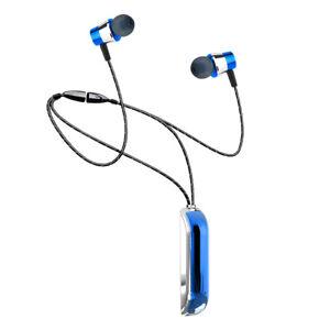 Bluetooth 5.0 Earphones Wireless Necklace Headphones Earbuds Headset Waterproof