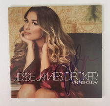 Jessie James Decker Signed Autographed On This Holiday CD