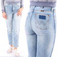 Wrangler Retro Slim fiji, mode, Hosen, Dames, High Waist, Frauen Jeans W24 - W32