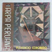 Florencio Coronado - El Arpa Peruana 60's Peru Sono Radio Mono LPL-1071 VG+