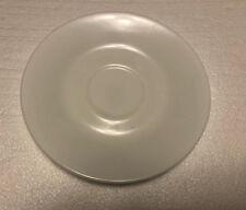 "CORELLE Livingware / Corning USA Just White - 6-1/4"" TEA CUP SAUCER"