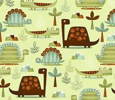 "Studio E Dino-Riffic DINOSAURS 3403-60 100% cotton 43"" fabric by the yard 36"""