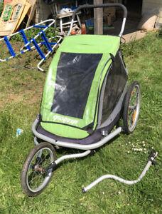 Croozer Kid for 2 Bike Trailer, Stroller, Jogger Dogs like Burley Thule Chariot