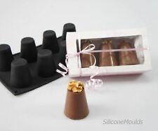 2 x 8 cellules red dariole anglais Madeleine silicone cuisson moule à gâteau moule moules