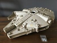 Vintage Star Wars Millennium Falcon Shell and Back Cover w/ Original Screws
