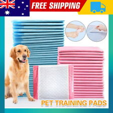 Puppy Pet Dog Indoor Cat Toilet Training Pads Potty Pee Absorbent Thin 60X60cm