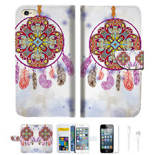 Dream Catcher Wallet  Case Cover For Apple iPhone 6 6S -- A016