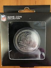 New listing Super Bowl 50 On The Fifty Collectible Coin Nfl Licensed Fast Ship Sb1E