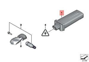 BMW OEM 16-17 650i TPMS Tire Pressure Monitor-Control Module 36106881474