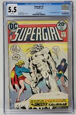Supergirl Issue# 7 DC Comics October 1973 CGC Graded 5.5 Comic Book