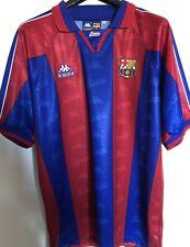 fc barcelona maglia camiseta match worn 1995-96