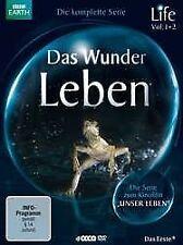 BBC EARTH - DAS WUNDER LEBEN - DIE KOMPLETTE SERIE  4 DVD NEU OVP