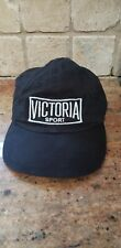 Victoria Secret Sport Logo Hat Women's Black One Size Pre Owned
