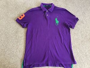 Ralph Lauren Large Custom Fit Polo Shirt Mens