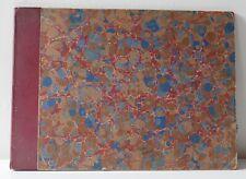 Grand recueil semi-relié de 8 plans de Paris—Danet—XVIIIe siècle