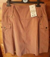 Cherokee Pink Cord Cargo Skirt (Size 10)